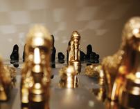 Shoe Runway Chess set