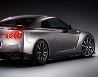 Nissan GT-R (nurbs)