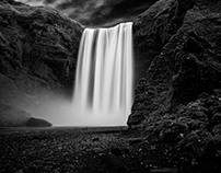 Iceland Series BnW