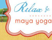 Maya Yoga Retreat Collateral