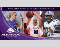 Bluffton University Mailers, E-promotions