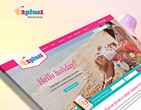 Baby Caring website Design