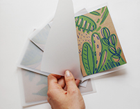 Postcards from Portugal - screen print