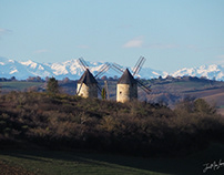 Paysages de Lézat-sur-Lèze