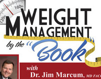 Weight Management by the Book CD Packaging Design