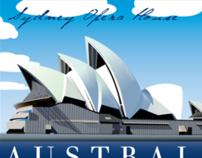 Sydney Opera House Stamp Series