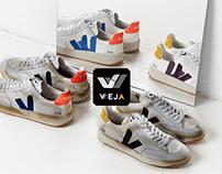 Veja - Storytelling et branding dans l'UX/UI