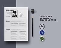 Resume+coverletter [Free]