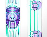 Signal snowboard contest design