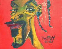 TWOTAY - SNOOP LION / SNOOP DOGG - Oil Painting