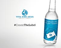 VIVA CON AQUA - Adobe DesignContest #CreateTheLabel