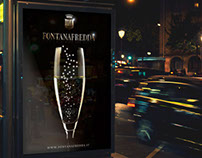 Fontanafredda Luxury event poster
