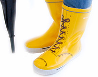 Yellow Boots Design
