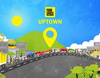 Food Space Uptown - Event Branding