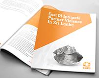 Cost of Intimate Partner Violence in Srilanka.