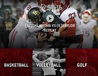 Big 12 Conference Website: Redesign