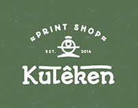 Kuteken Print & Shop Company Branding