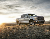 2018 Ford F150 - CGI & Retouching