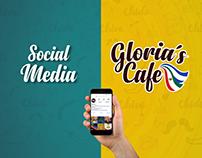 Social Media Marketing - Gloria's Cafe