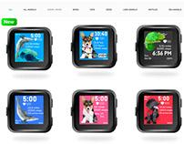 Diana's Animal Fitbit Clockfaces