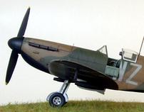 Supermarine Spitfire Mk1 WZ-H, 19Sqn 1939