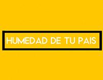 El Negro Baltasar - Humedad de tu Pais EP -Tapa/Portada
