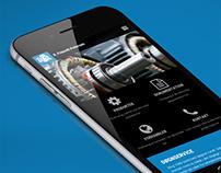 R. Frimodt Pedersen - Webdesign og Photoshoot
