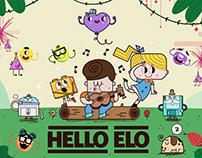 Hello Elo Character Design