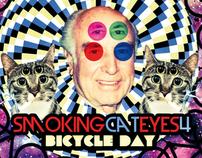 Bicycle Day With SmokingCat