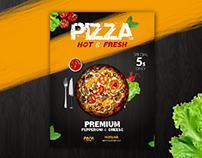 Pizza Flayer Restaurant menu