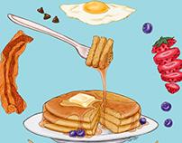 Pancake Mandala