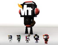 VH1 UPFRONT 2012 ROBOT DEVELOPMENT