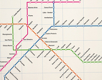 Rome Underground Map