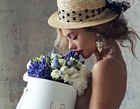 Bloom de fleur advertising
