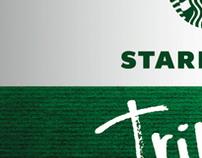 Ad for Starbucks Tribute Blend