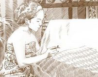BATIK -traditional drawing-
