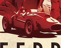 Ferrari: Race to Immortality - Poster Concept