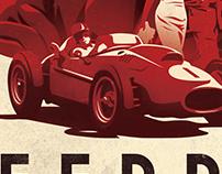 Ferrari: Race to Immortality - Poster Concept