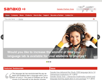 Sanako Exercise Portal (Distant Learning Portal) [QA]
