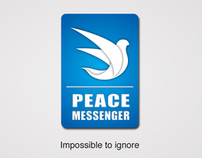 Peace Messenger - for D&AD 2012 Peace One Day Brief