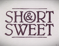 Short & Sweet Ident