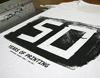 """Kontorousis """"50 years"""" t-shirt"""