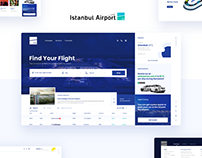 Istanbul Airport UX/UI Design