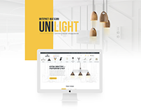 Website development for the company Unilight