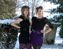 Winter Gothic Fashion Shoot