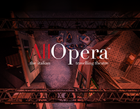 ALL OPERA - Corporate and Website design