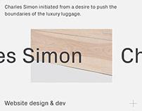 Charles Simon - Luxury Luggage website