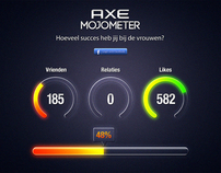 Axe MojoMeter - How lucky are you with the ladies?