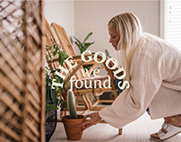 The Goods We Found - Branding Identity