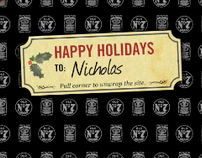 Jack Daniel's Holiday Website